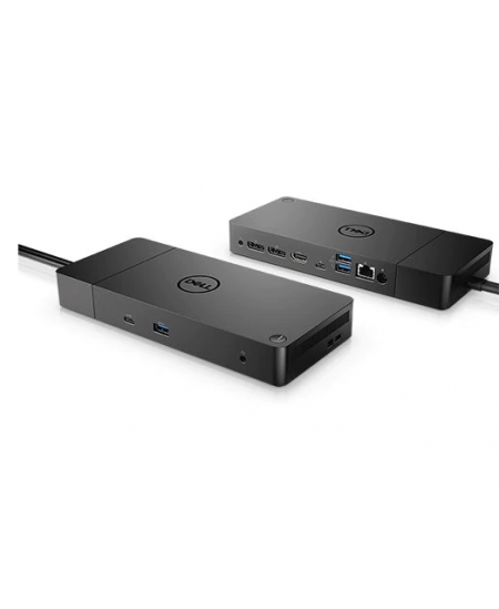 Dell Dell Performance Dock WD19DC Docking station, Ethernet LAN (RJ-45) ports 1, DisplayPorts quantity 1, USB 3.0 (3.1 Gen 1) po
