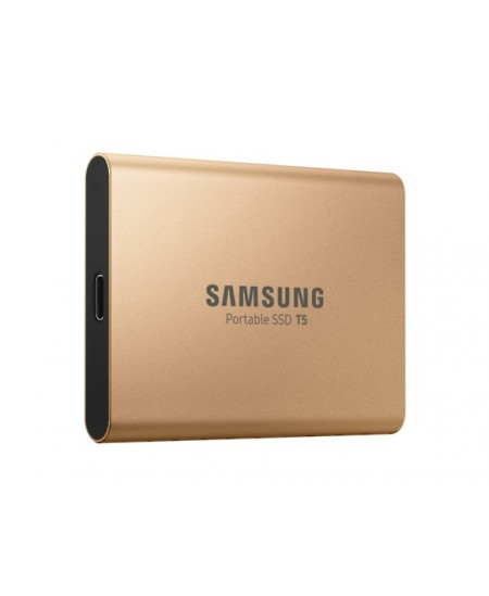 Samsung Portable SSD T5 1000 GB, USB 3.1 Gen 2, Gold