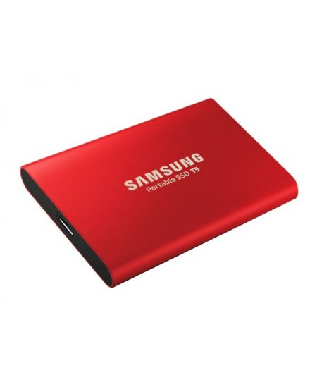 Samsung Portable SSD T5 1000 GB, USB 3.1 Gen 2, Red