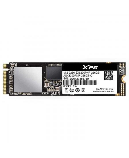 ADATA XPG SX8200 Pro 256 GB, SSD interface M.2 NVME, Write speed 1200 MB/s, Read speed 3500 MB/s
