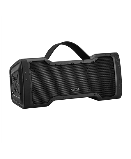 Acme Speaker PS408 2 x 12 W, Portable, Wireless connection, Black, Bluetooth