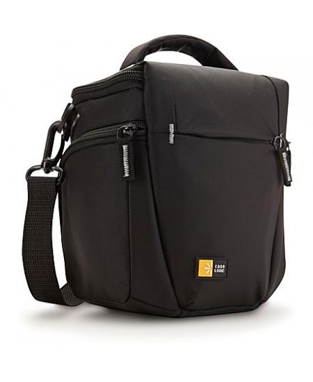 Case Logic DSLR Camera Holster Black, Interior zippered pocket stores SD card, Detachable, adjustable shoulder strap and carryin