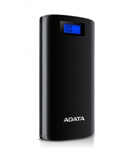 ADATA P20000D 20000 mAh, Black