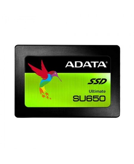 "ADATA Ultimate SU650 ASU650SS-240GT-R 240 GB, SSD form factor 2.5"", SSD interface SATA, Write speed 450 MB/s, Read speed 520 M"