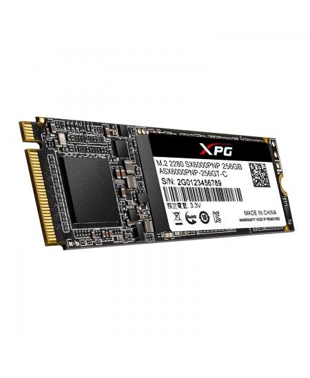 ADATA XPG SX6000 Pro PCIe Gen3x4 256 GB, SSD interface M.2 NVME, Write speed 1200 MB/s, Read speed 2100 MB/s