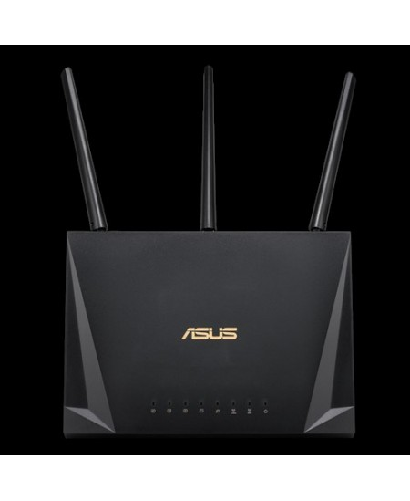Asus Gaming Router RT-AC85P 802.11ac, 600+1733  Mbit/s, 10/100/1000 Mbit/s, Ethernet LAN (RJ-45) ports 4, MU-MiMO Yes, 3G/4G via
