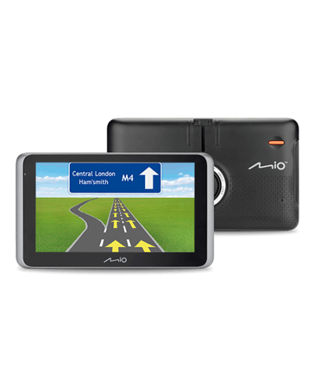 "Mio Truck navigation MiVue Drive 65 6.2"" touchscreen, Bluetooth, GPS (satellite), Traffic Message Channel (TMC), Maps inclu"