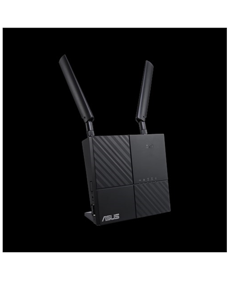 Asus LTE Modem Router 4G-AC53U 802.11ac, 300+433 Mbit/s, 10/100/1000 Mbit/s, Ethernet LAN (RJ-45) ports 2, MU-MiMO Yes, 4G, Ante