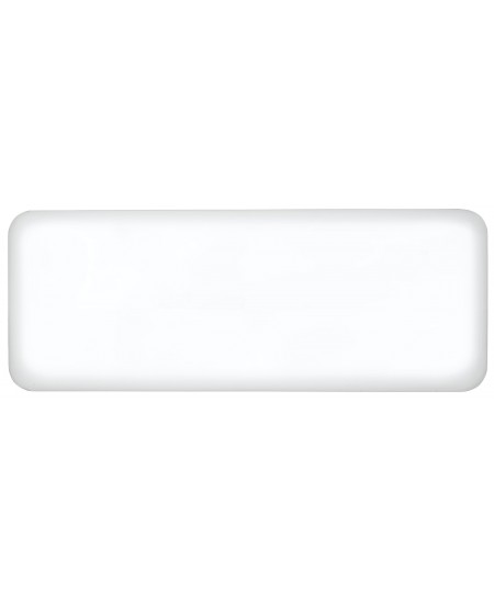 Mill Steel IB1200DN Panel Heater, 1200 W, Suitable for rooms up to 18 m², Number of fins Inapplicable, White