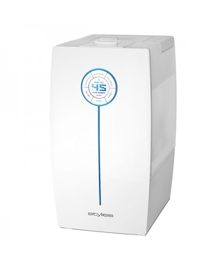 Air Humidifier Stylies HAU4601 Humidification capacity 400 ml/hr, 65 - 160 m³, 30 W, white, Water tank capacity 7,5 L