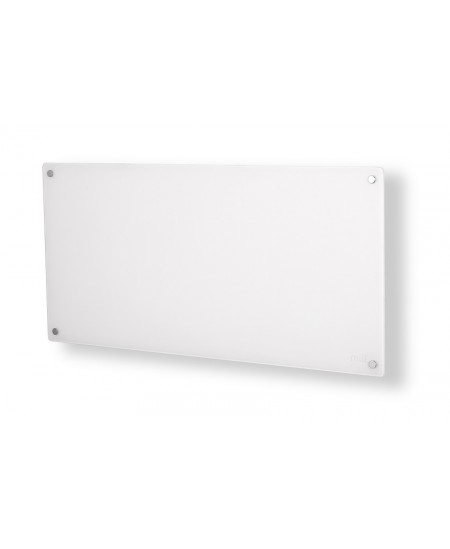 Mill Glass MB900DN Panel Heater, 900 W, Suitable for rooms up to 15 m², Number of fins Inapplicable, White
