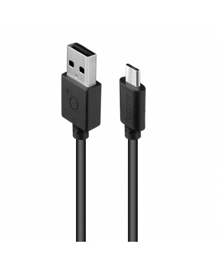 Acme Cable CB1011 1 m, Black, Micro USB, USB A