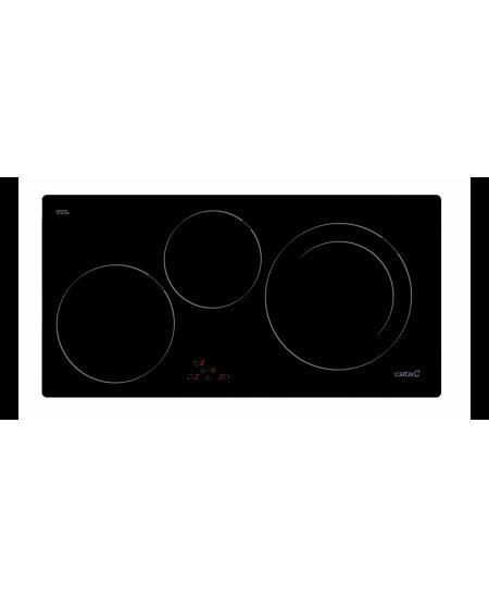 CATA I 753 BK Induction, Number of burners/cooking zones 3, Black, Timer