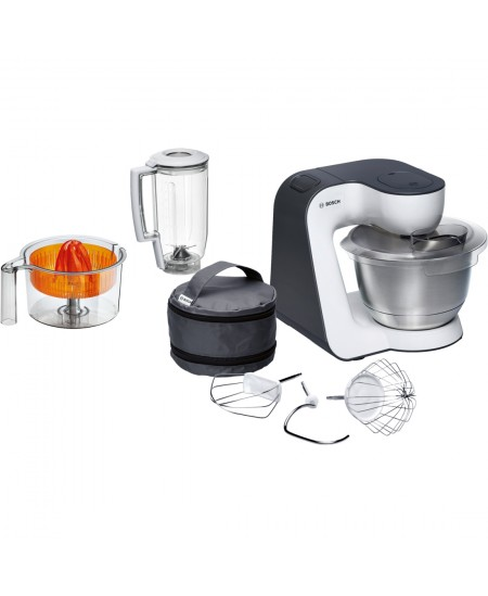 Bosch MUM5 Start Line universal Orange, Silver, Tran, 800 W, Blender, Buttons