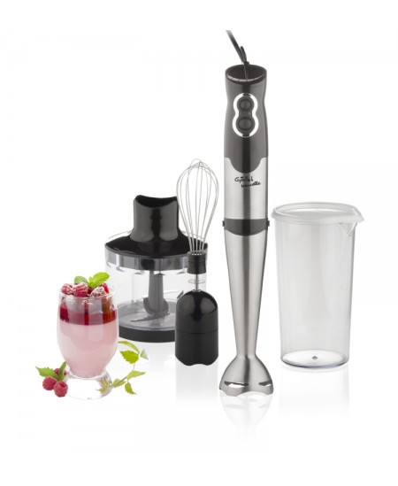 Gallet Blender Naucelle 3-in-1 GALMIX435 Black/Stainless steel, 500 W, Ice crushing, Material jar(s) Plastic