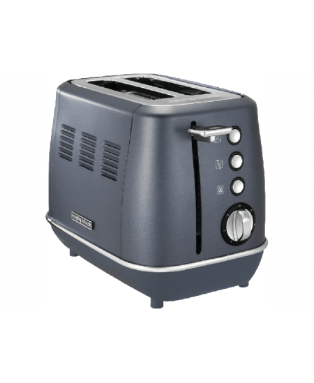Morphy richards Evoke Toaster 224402 Power 850 W, Number of slots 2, Housing material Stainless steel,  Steel Blue