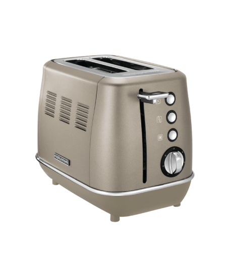 Morphy richards Evoke Toaster 224403 Power 850 W, Number of slots 2, Housing material Stainless steel, Platinum