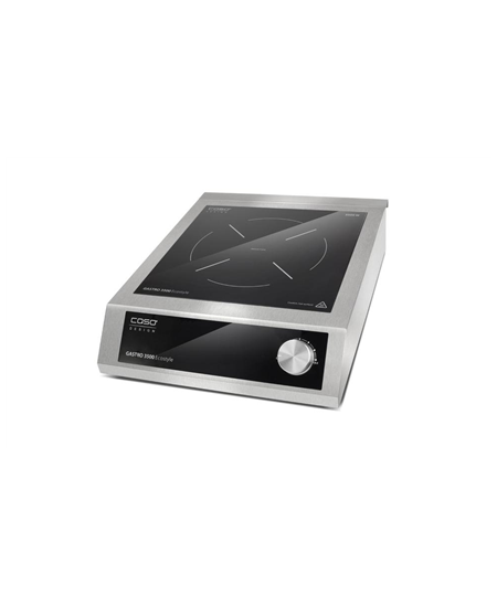 Caso Mobile hob Gastro 3500 Ecostyle  Number of burners/cooking zones 1, Black/ stainless steel, Induction,