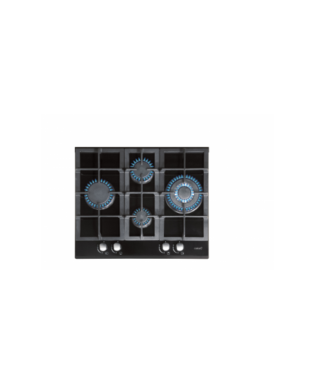 CATA Hob  LCI 6031 B Gas on glass, Number of burners/cooking zones 4, Black,