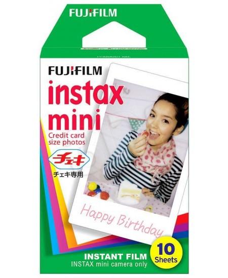 Fujifilm Instax Mini Glossy Instant Film Quantity 10, 86 x 54 mm