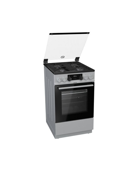Gorenje Cooker K5351SF Hob type  Gas, Oven type Electric, Stainless steel, Width 50 cm, Electronic ignition, Grilling, LED, 62 L
