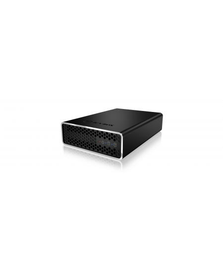 "Raidsonic External RAID system fo SSD and HDD IB-RD2253-U31 2x 2.5"" SATA I/II/III, 2.5"", 1x USB 3.1 (Gen 2) Type-B wit"