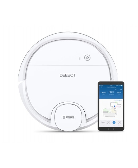 Ecovacs Vacuum cleaner DEEBOT OZMO 905 EU Warranty 24 month(s), Battery warranty 24 month(s), Robot, White, 0,45 L, 66 dB, Wet &