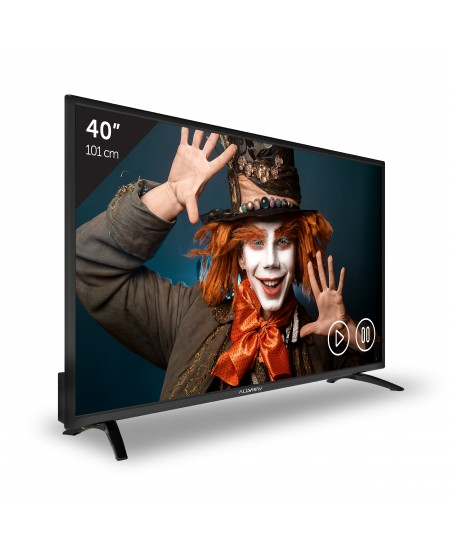 "Allview 40ATC5000-F 40"" (102 cm), Full HD, DVB-T/C, Black, 1920 x 1080"