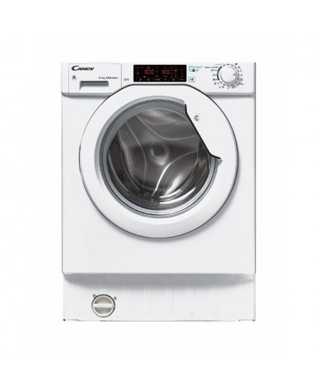 Candy Washing Machine with Dryer CBWDS 8514TH-S Front loading, Washing capacity 8 kg, Drying capacity 5 kg, 1400 RPM, A, Depth 5
