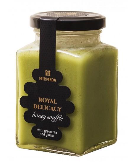 Medaus desertas su žaliąja arbata ir imbieru, 320 g