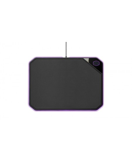 Cooler Master MP860 RGB Mousepad Hard/Soft double sided Mouse pad, Black