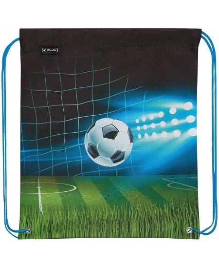 Sportinis krepšys HERLITZ su futbolo motyvais, berniukams