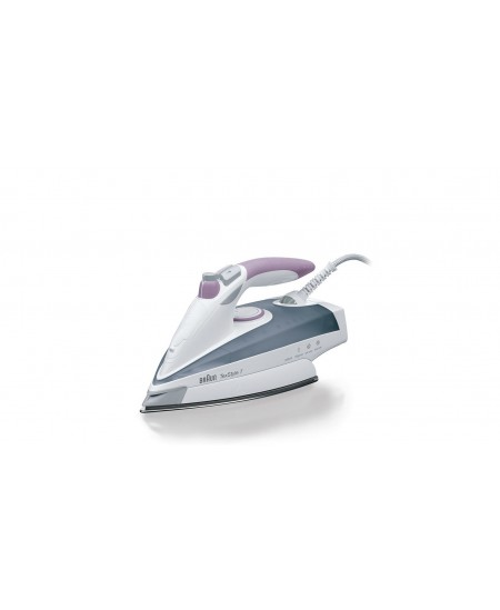 Braun Iron TS 755 EA Steam, 2400 W, Water tank capacity 400 ml, Continuous steam 50 g/min, Steam boost performance 200 g/min, Gr