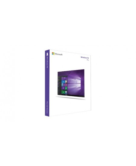 Microsoft Windows 10 Pro 4YR-00257, 32-bit/64-bit, DVD, GGK-OEM, English, Delivery Service Par