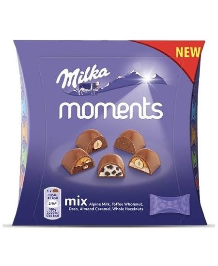 Saldainių dėžutė MILKA Moments MIX, 97g