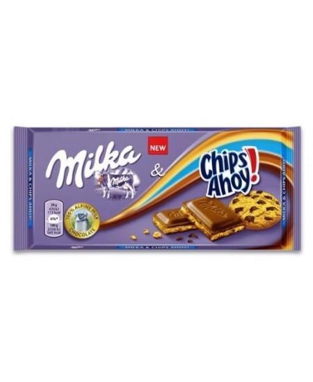 Šokoladas MILKA Chips Ahoy, 100 g