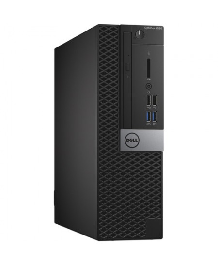Dell Optiplex 5050 Desktop, SFF, Intel Core i5, i5-7500, Internal memory 8 GB, DDR4, SSD 256 GB, Intel HD, Tray load DVD Drive (