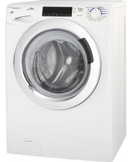 Candy Washing Machine with dryer GVSW40464TWC-S Front loading, Washing capacity 6 kg, Drying capacity 4 kg, 1400 RPM, B, Depth 4