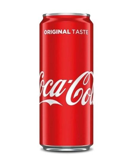 Gazuotas gaivusis gėrimas COCA COLA, 0,33 l, skardinė D