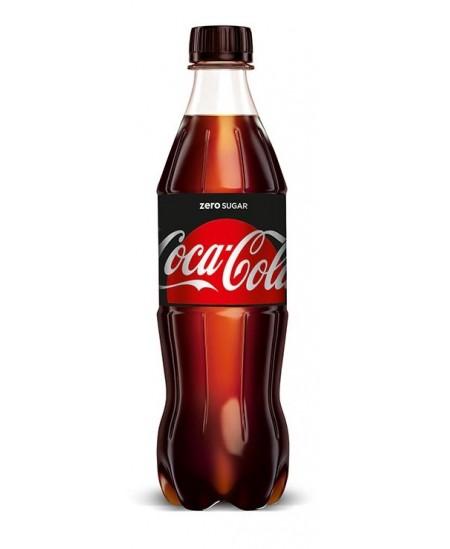 Gaivinantis gėrimas COCA COLA ZERO, 0.5 l, PET D