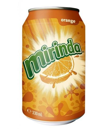 Gazuotas gėrimas MIRINDA Orange, 0,33 l, skardinė D