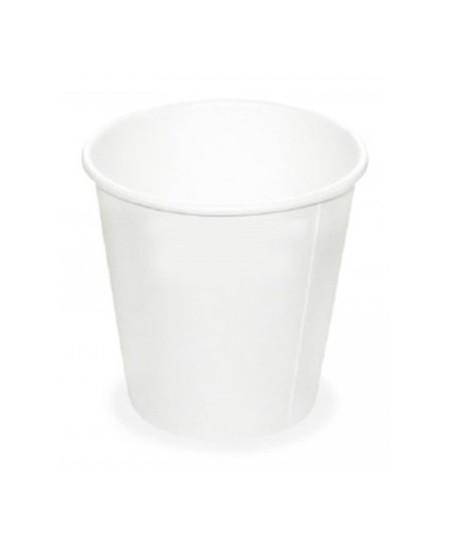 Popieriniai kavos puodeliai, balti,  250ml, 60 vnt.