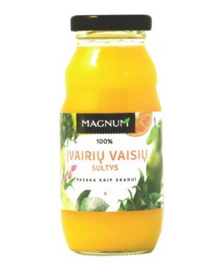 Įvairių vaisių sultys MAGNUM, 200 ml