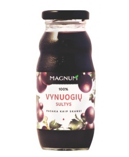 Vynuogių sultys MAGNUM, 200 ml
