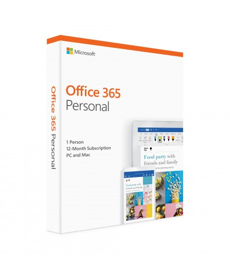 Microsoft Office 365 Personal QQ2-00905 1 person, License term 1 year(s), Russian, Medialess P4