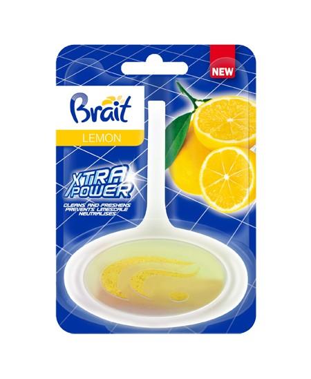 WC pakabinamas oro gaiviklis-muiliukas BRAIT Lemon, 40g