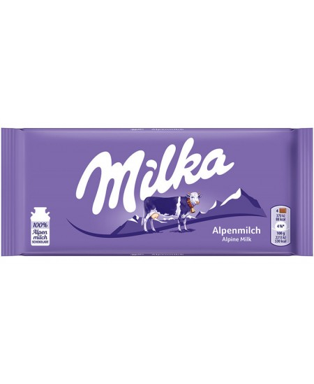 Pieniškas šokoladas MILKA ALPINE BAR, 100 g