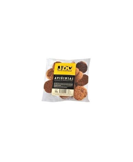 Sausainiai JDC, avižiniai, su natūraliu pienu, 180 g