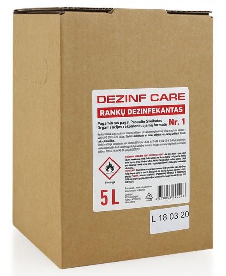 Rankų dezinfekantas DEZINF CARE 5L