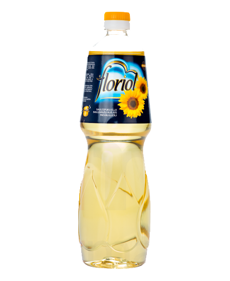 Saulėgrąžų aliejus FLORIOL, 1 l